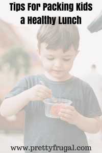 tips for packing a kids healthy lunch