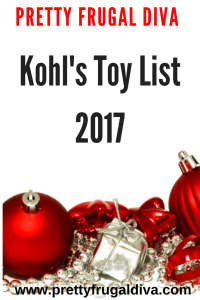 Kohls Toy List 2017