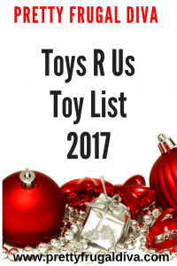 Toys R Us Toy List 2017