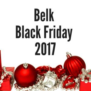Belk Black Friday 2017