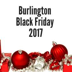 Burlington Black Friday 2017