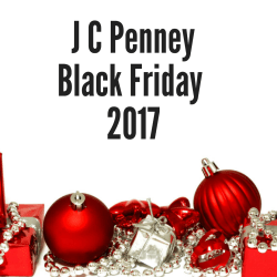 J C Penney Black Friday 2017