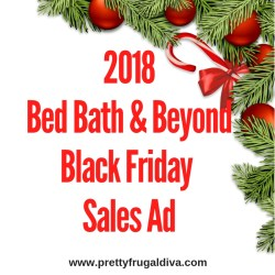 2018 Bed Bath & Beyond Black Friday Sales Ad