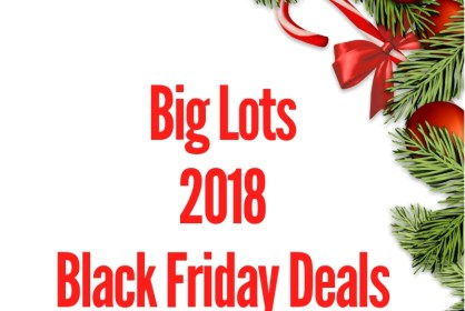 2018 Big Lots Black Friday Sales Ad