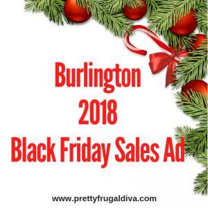 2018 Burlington Black Friday Sales Ad