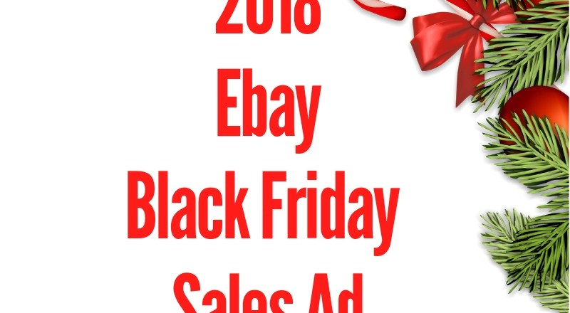 2018 Ebay Black Friday Sales Ad
