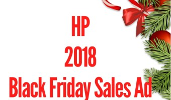2018 HP Black Friday Sales Ad