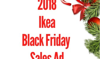2018 Ikea Black Friday Sales Ad