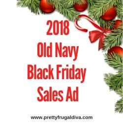 2018 Old Navy Black Friday Sales Ad