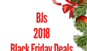 2018 BJs Black Friday Sales Ad