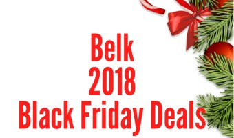 Belk 2018 Black Friday Deal