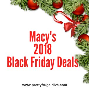 Macys 2018 Black Friday Deal