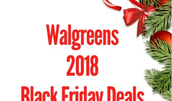 2018 Walgreens Black Friday Sales Ad