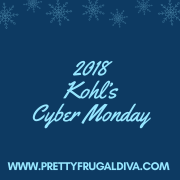 2018 Kohl's Cyber Monday