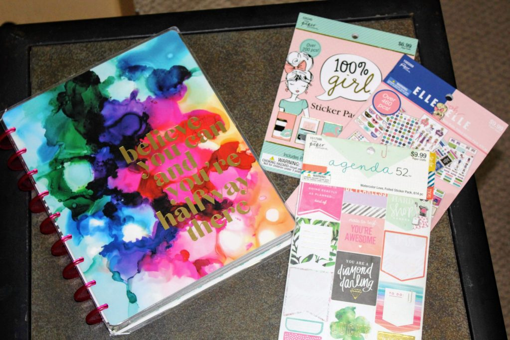 planner and  planner stickers