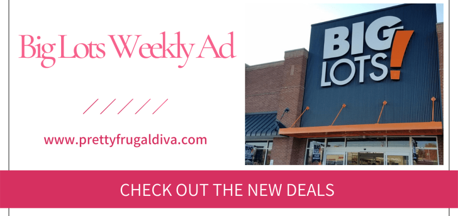 Big Lots Weekly Sales Ad