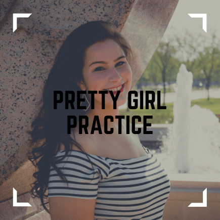 occupational therapy pretty girl practice