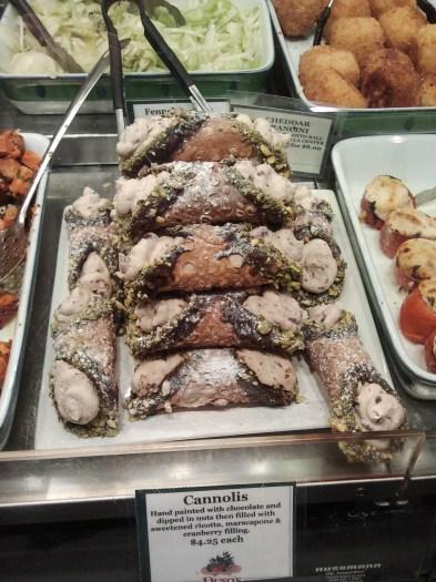 Canoli at Duso's Italian Foods
