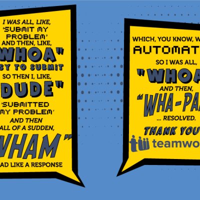 Customer Quote Comic Style Design