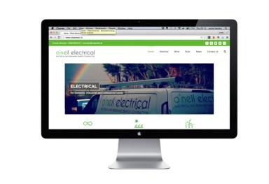 'O'Neil Electrical' - Website Redesign 2016