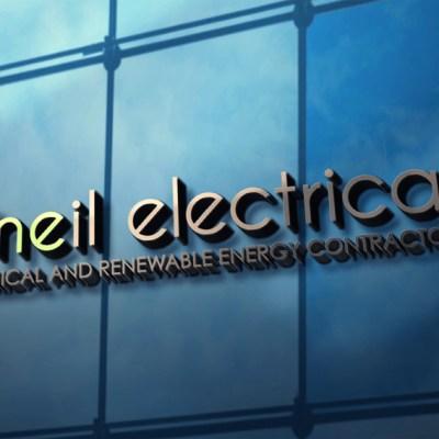 'O'Neil Electrical' Wall signage