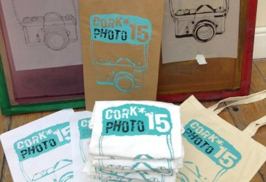 Cork Photo Fringe 2015 Screenprint Merchandise
