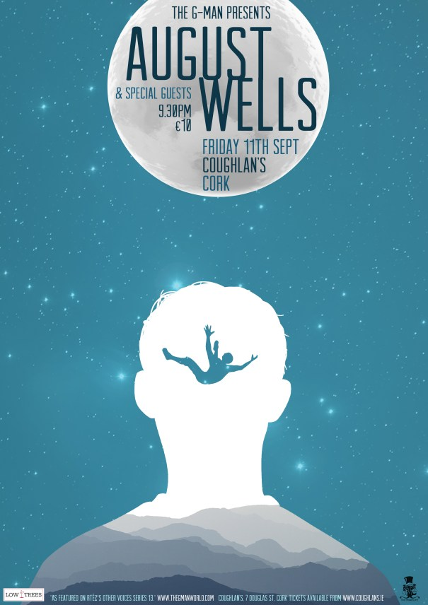 The Gman presents 'August Wells'- Coughlans live, Cork September 2015