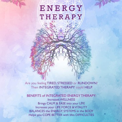 'Energy Therapy' promotional poster