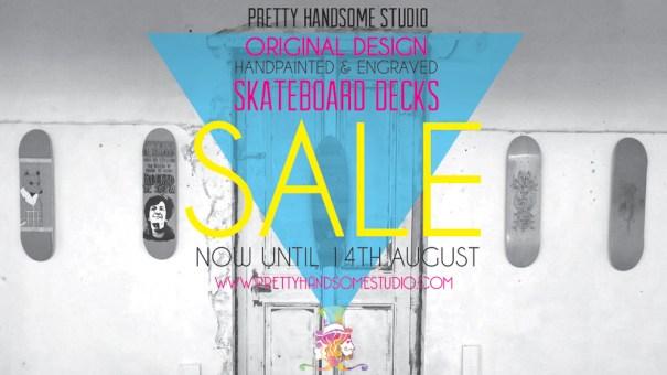 skateboard design sale