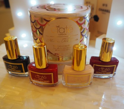Ciaté London Olivia Palermo The Fashion Edit Nail Polish Collection Brooklyn Sunday's Napa Valley Hutch Review Swatch Swatches