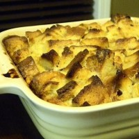 Time to get creative!  Breakfast Bread Pudding... this one's chocolate chip banana :)