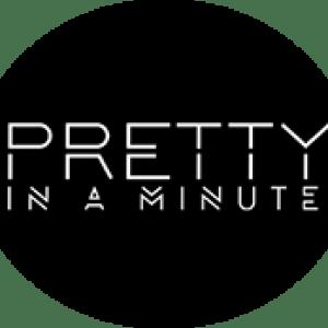 pretty in a minute logo
