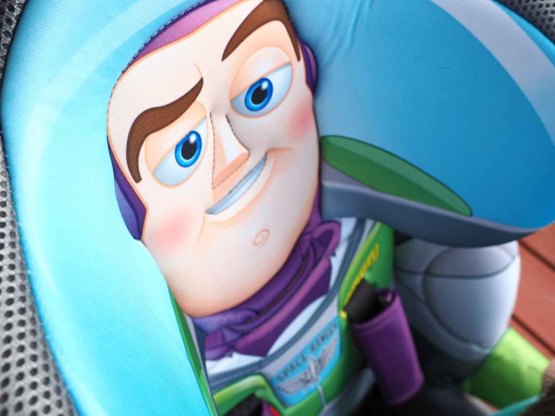 Buzz Lightyear Car Seat