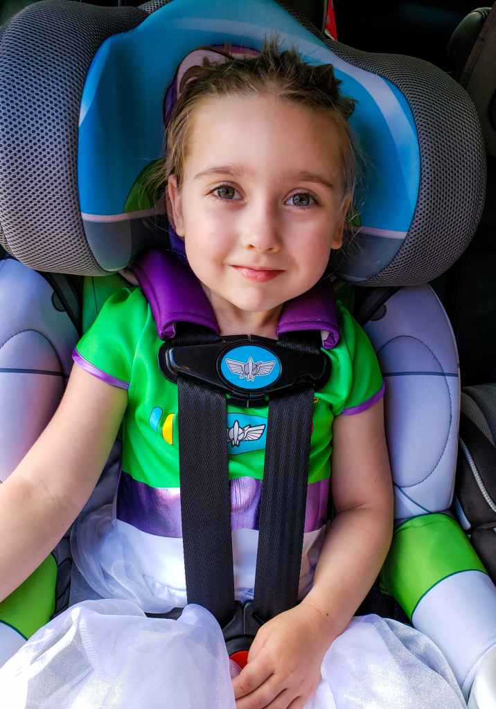 Kidsembrace Buzz Lightyear Combination Car Seat Review