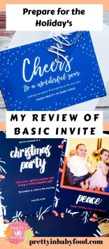 Prepare for the holiday's with Basic Invite