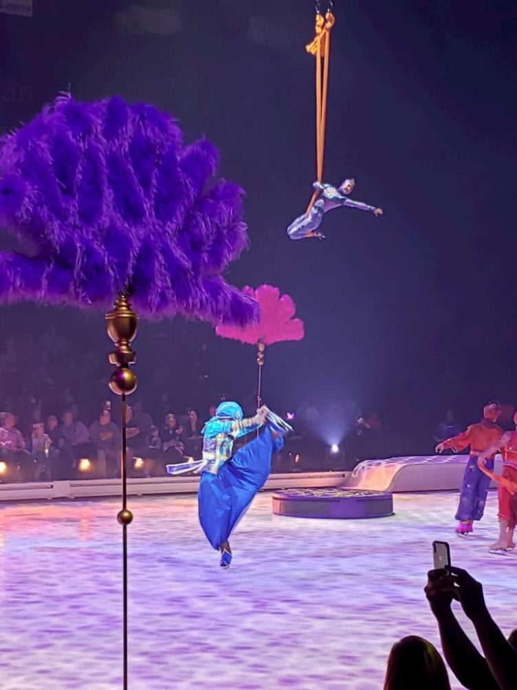 Aladdin Aerial performance