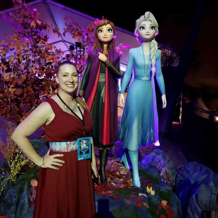 Frozen 2 photo op