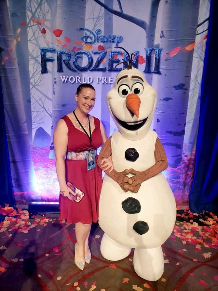 Olaf photo op