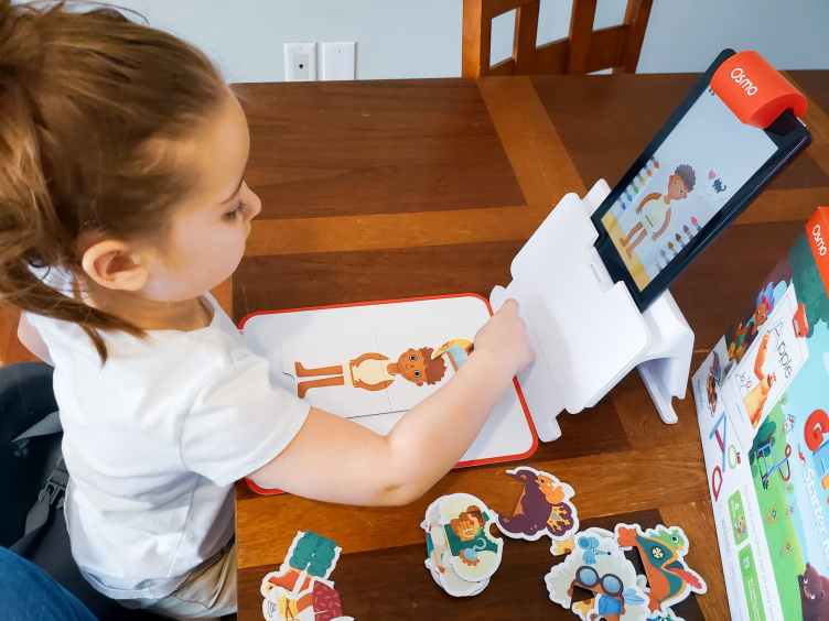 Play time with Osmo