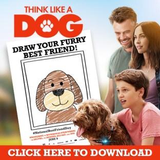 Think Like A Dog Draw