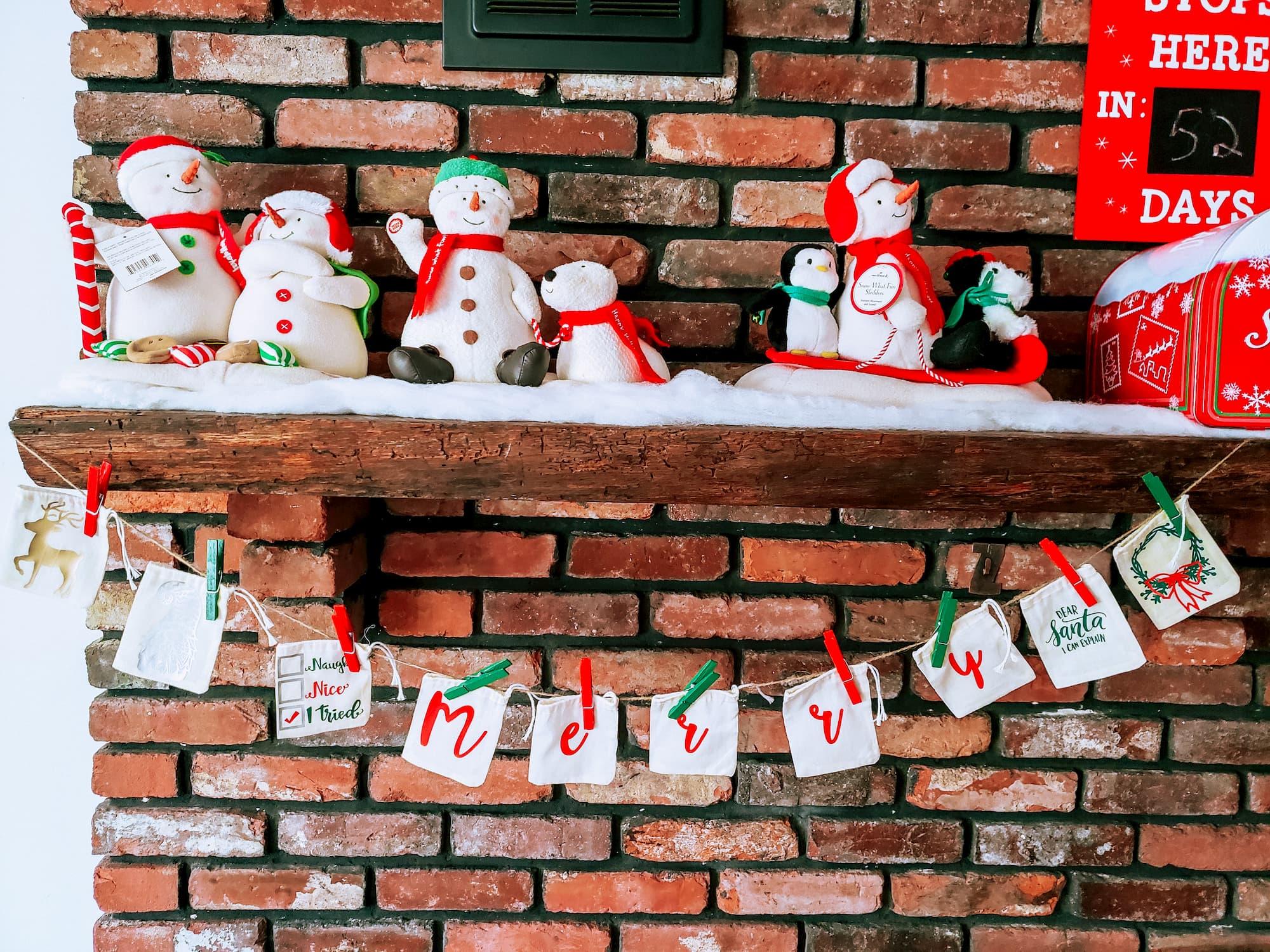 diy farmhouse advent calendar