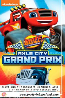 Blaze and the Monster Machines Axle City Grand Prix DVD Release Info