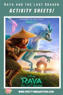 Raya and the Last Dragon Activity Sheets