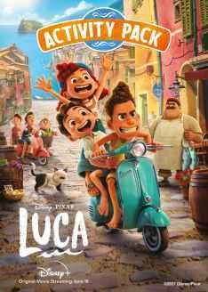 Pixar Luca Activity Pack
