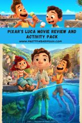Pixar's Luca Movie Review and Activity Pack