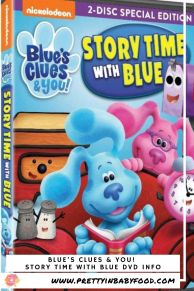 Blue's Clues & You! Craft Story Time with Blue DVD Info