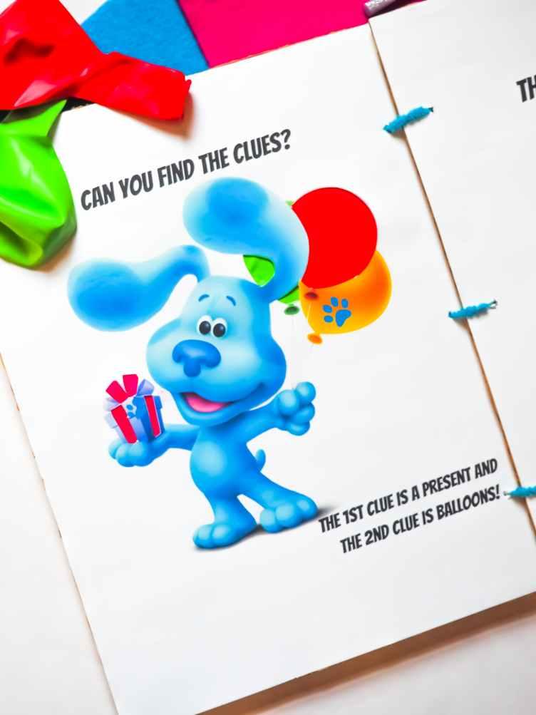 Blue's Clues & You! DIY Craft