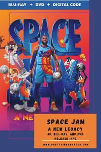 Space Jam A New Legacy 4K, Blu-ray, and DVD Release Info
