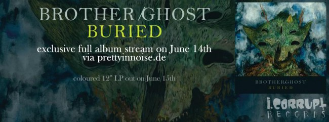 Albumstream: Brother/Ghost - Buried