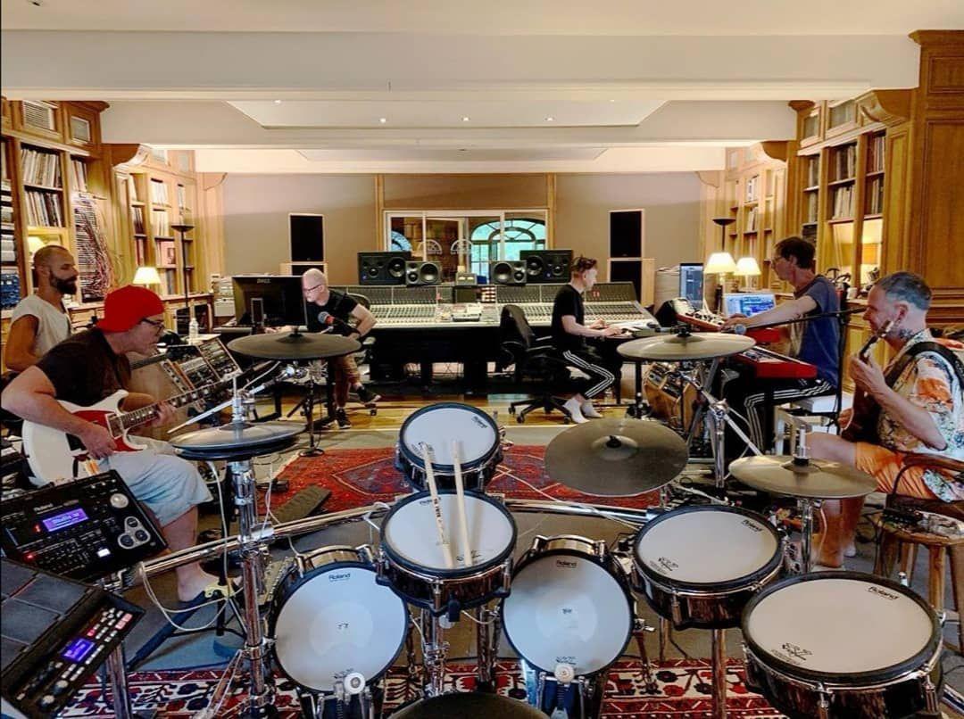 Rammstein im Studio | (c) christophschneider_official